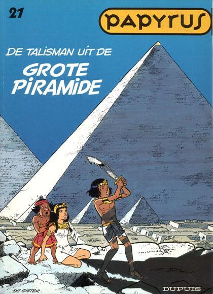 Papyrus 21 De talisman van de grote piramide