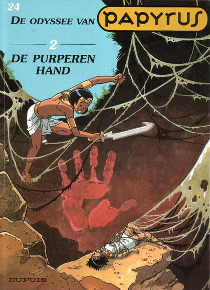 Papyrus 24 De odyssee van Papyrus - 2 - De purperen hand