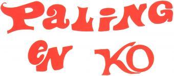 Paling en Ko (Schorpioen/Vrijbuiter/Byblos)